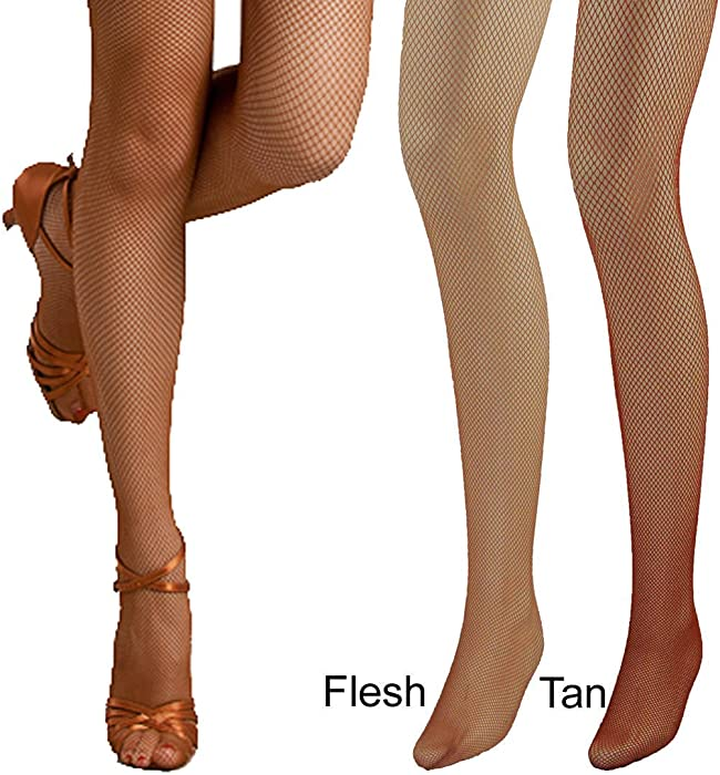 145953745 Women Fine Soft Fabric Professional Dance Fishnet Tight Stocking (3 colors