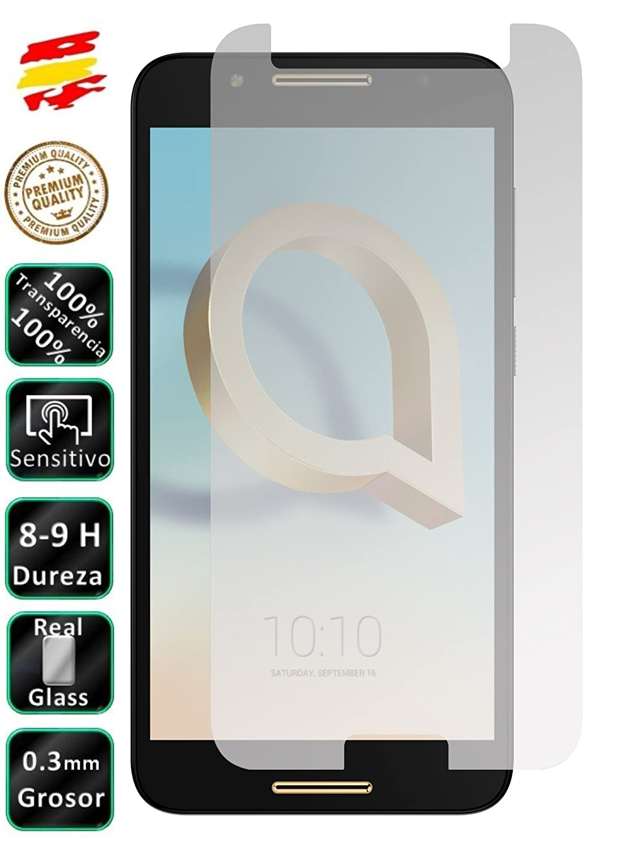Movilrey Protector para Alcatel A7 4G 5.5 Cristal Templado de ...
