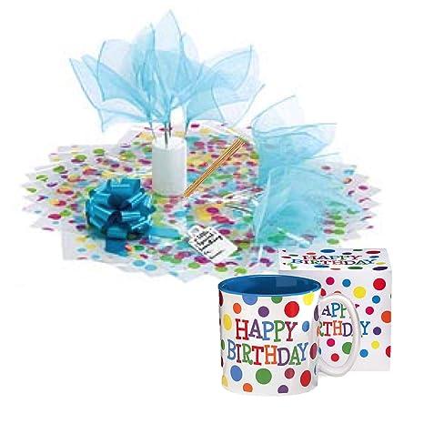 Amazon Com Happy Birthday Gifts Candy Bouquet Coffee Mug