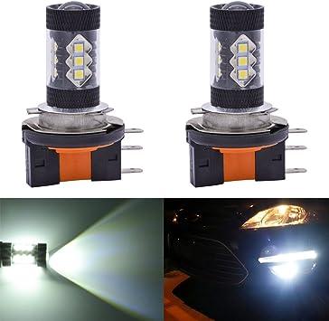 High Quality 2Pcs 80W H4 LED Fog Light Bulb Car DRIVING DRL