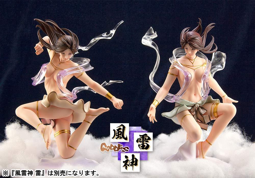 KEIKO'S Beauty Line collection Goddess No.C632 風雷神 風 1/7スケール ヴィーナスレジン製 塗装済み完成スタチュー
