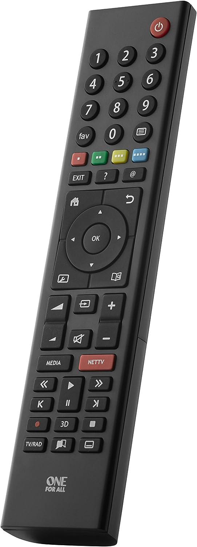 One For All URC1915 - Mando a Distancia de reemplazo para Televisores Grundig – Control Remoto Universal para Todo Tipo de TVs de la Marca Grundig