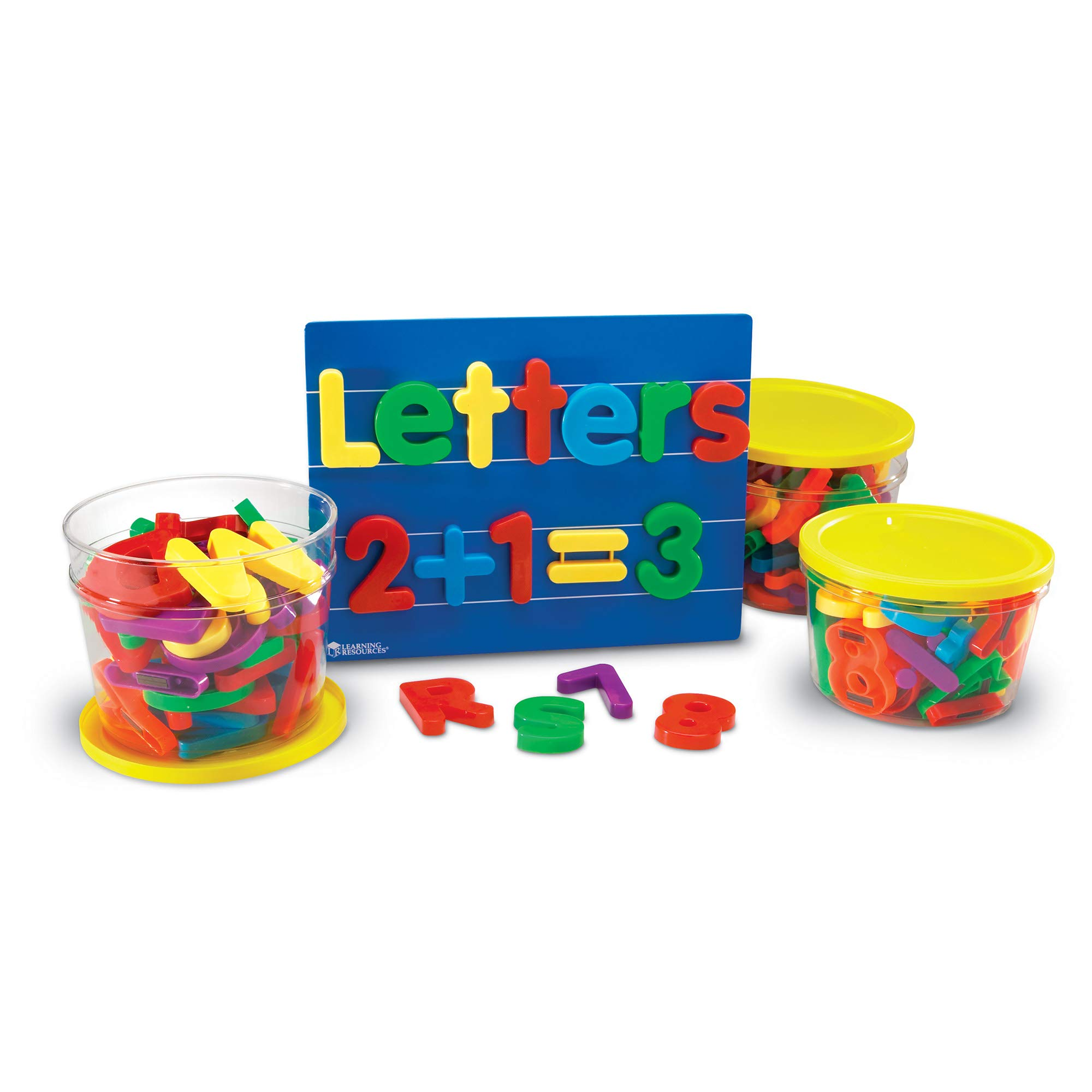 Learning Resources Jumbo Magnetic Letters & Numbers Combo Set by Learning Resources