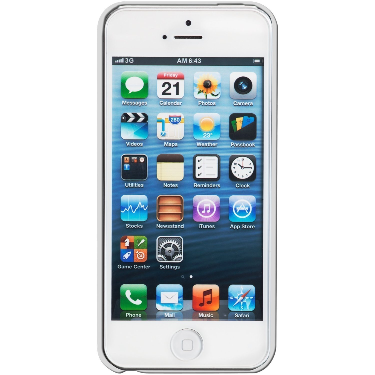 a01abd96659309 Amazon.com: Apple iPhone 5, AT&T, 16GB - White (Renewed): Cell Phones &  Accessories