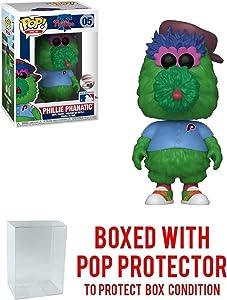Funko POP! Sports Mascots Philadelphia Phillies, Phillie Phanatic Vinyl Figure (Bundled with Compatible Pop Box Protector to Protect Display Box)