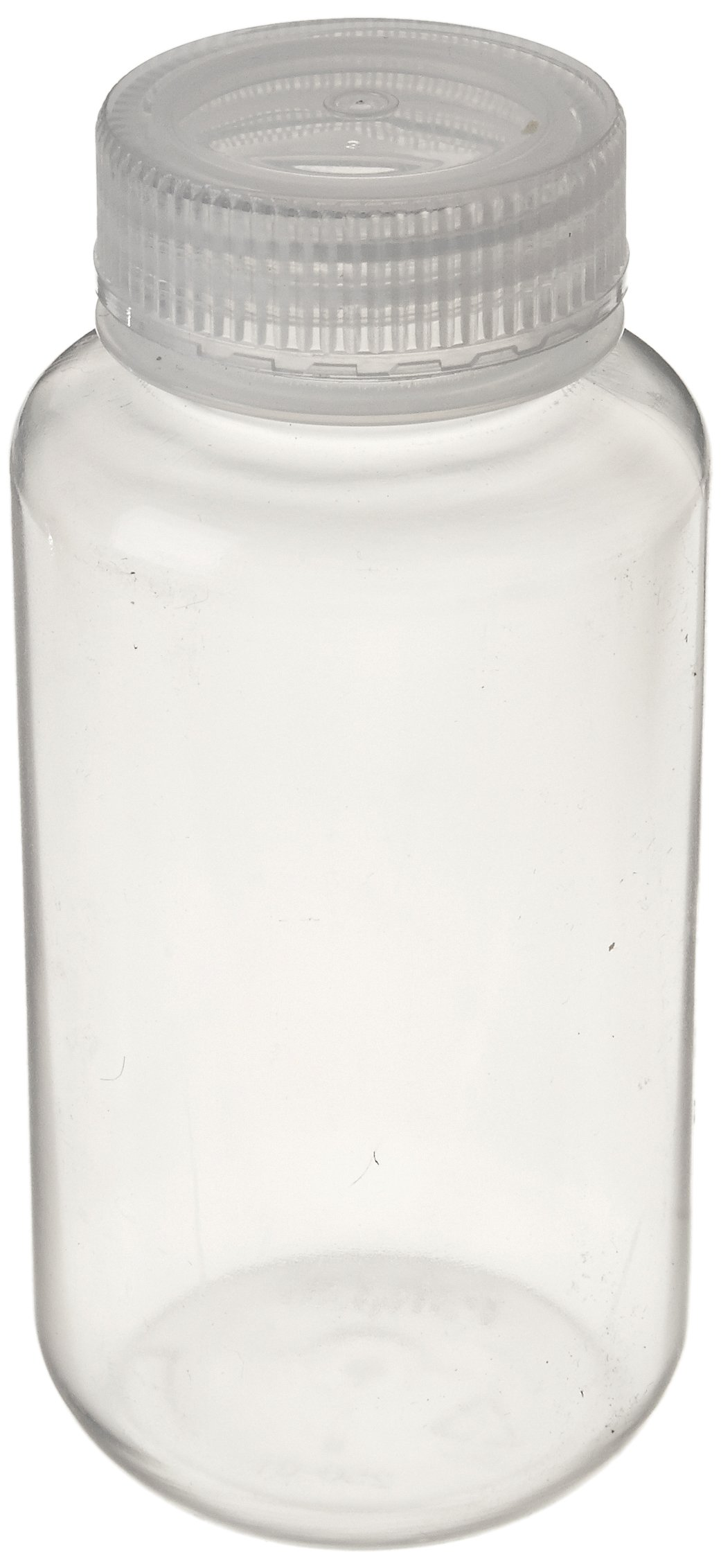 United Scientific 33308 Polypropylene Wide Mouth Reagent Bottles, 250ml Capacity (Pack of 12)