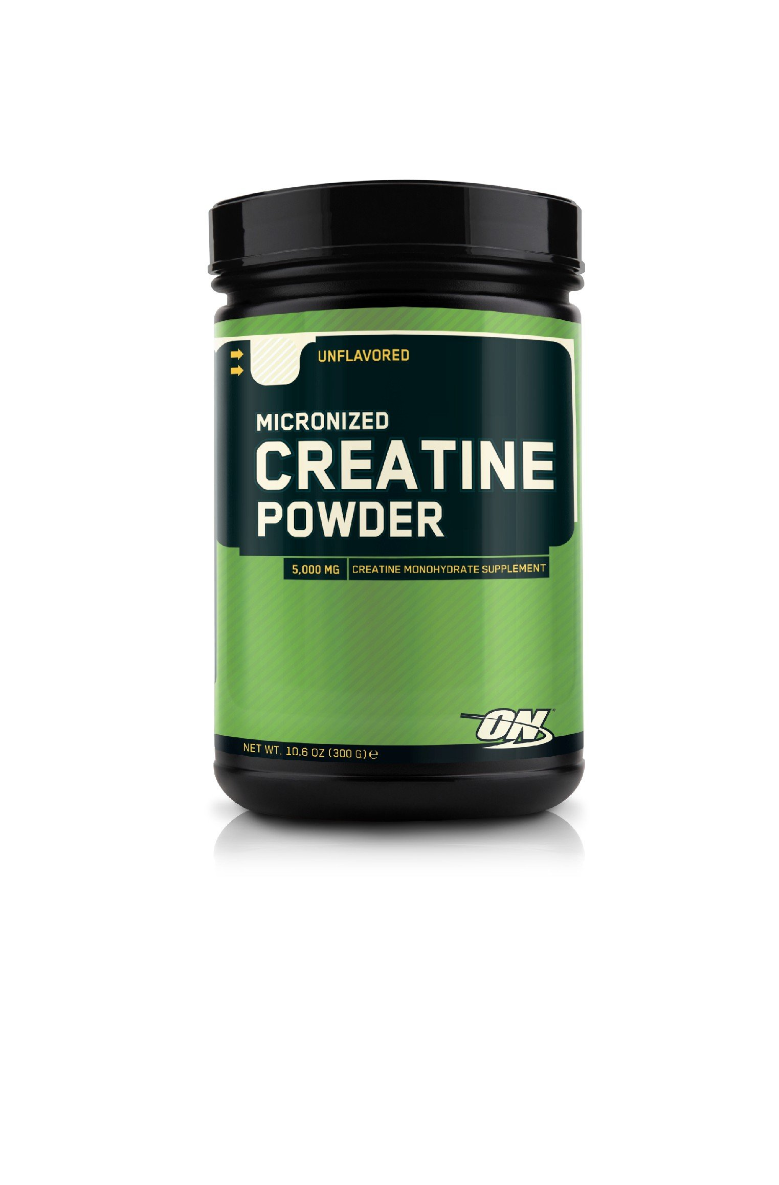 OPTIMUM NUTRITION Micronized Creatine Monohydrate Powder, Unflavored, 300g