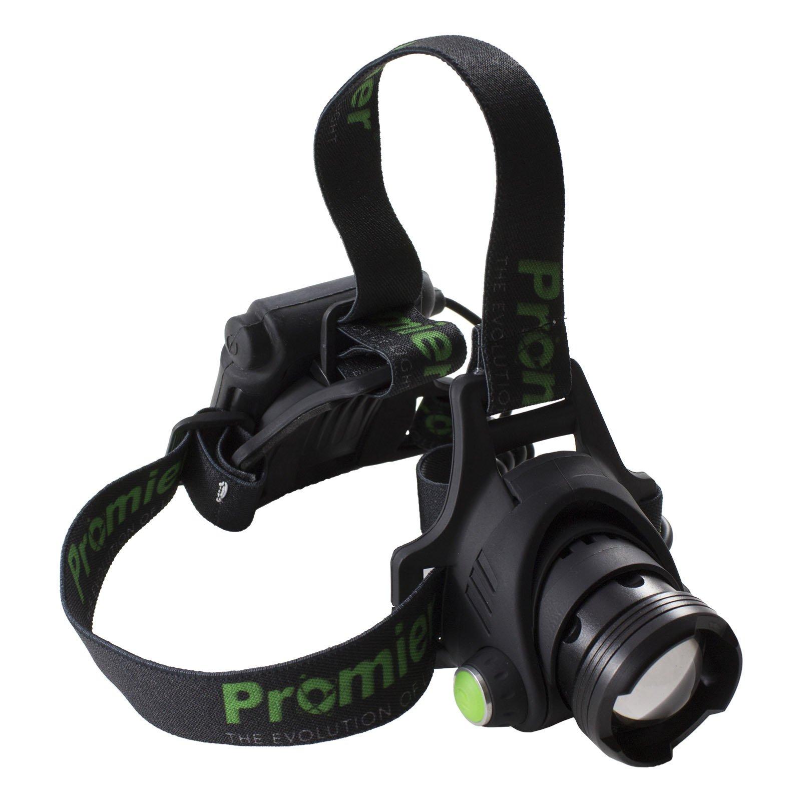 800 Lumen Headlamp Work Light (100% Mfg Guarantee) Adjustable Straps Fits Easily on your Head or Hard Hats, Bike Helmets and Over Caps