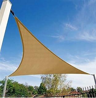 Amazon Com Shelterlogic Triangle Shade Sail Sand 12 X 12 X 12 Ft