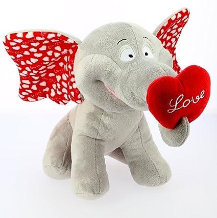 Bimar Elefante trompa con Corazon 35 cm