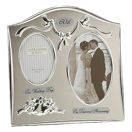 Amazon.com - Two Tone Silverplated Wedding Anniversary Gift Photo ...