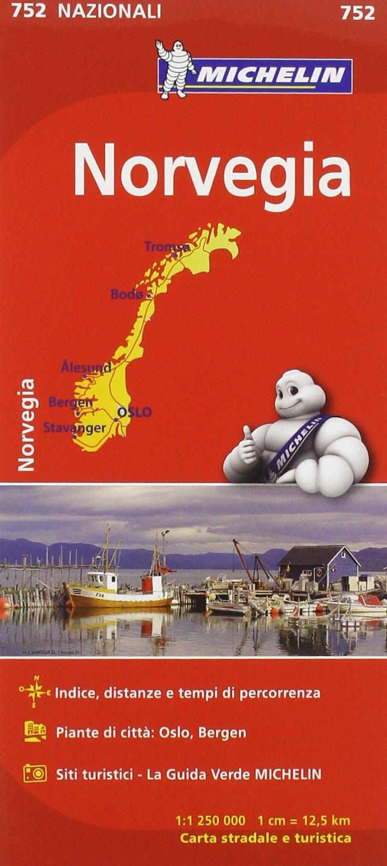 Cartina Stradale Michelin Italia.Amazon It Norvegia 1 1 250 000 Michelin Italiana Libri