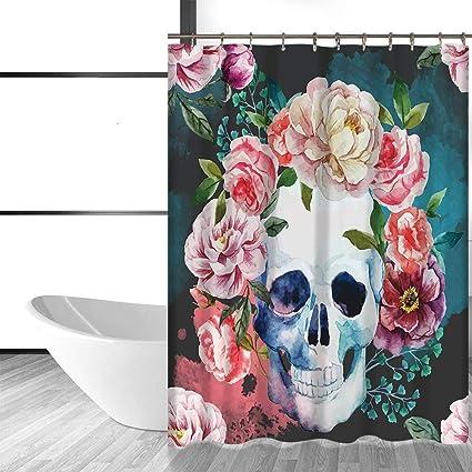 acheter rideau de douche tete de mort online 20