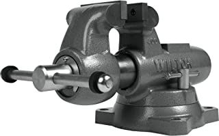 """product image for Wilton Edwards - 400S Machinist 4"""" Jaw Round Channel Vise with Swivel Base (28831)"""