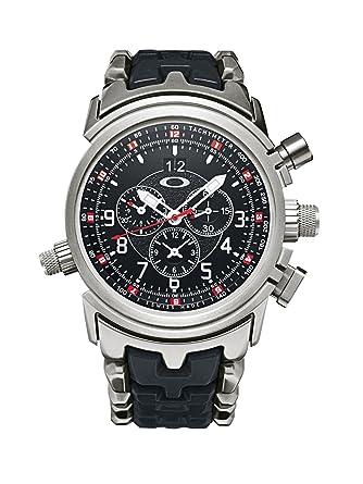 575339975c5 Oakley 12 Gauge Brushed Uhr Brushed   Black Dial    Amazon.de  Alle Produkte