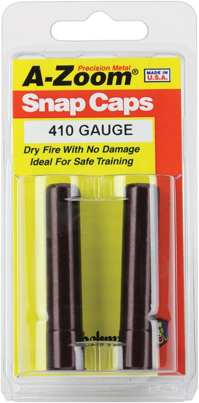 A-Zoom Shotgun Metal Snap Caps 410 Gauge, Per 2