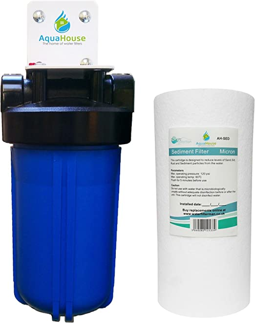 AquaHouse gran sedimento de lámpara UV sistema de pre-filtro para ...