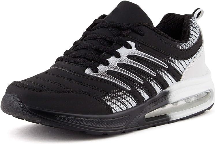 Damen Herren Sportschuhe Runners Laufschuhe Sneakers Neon