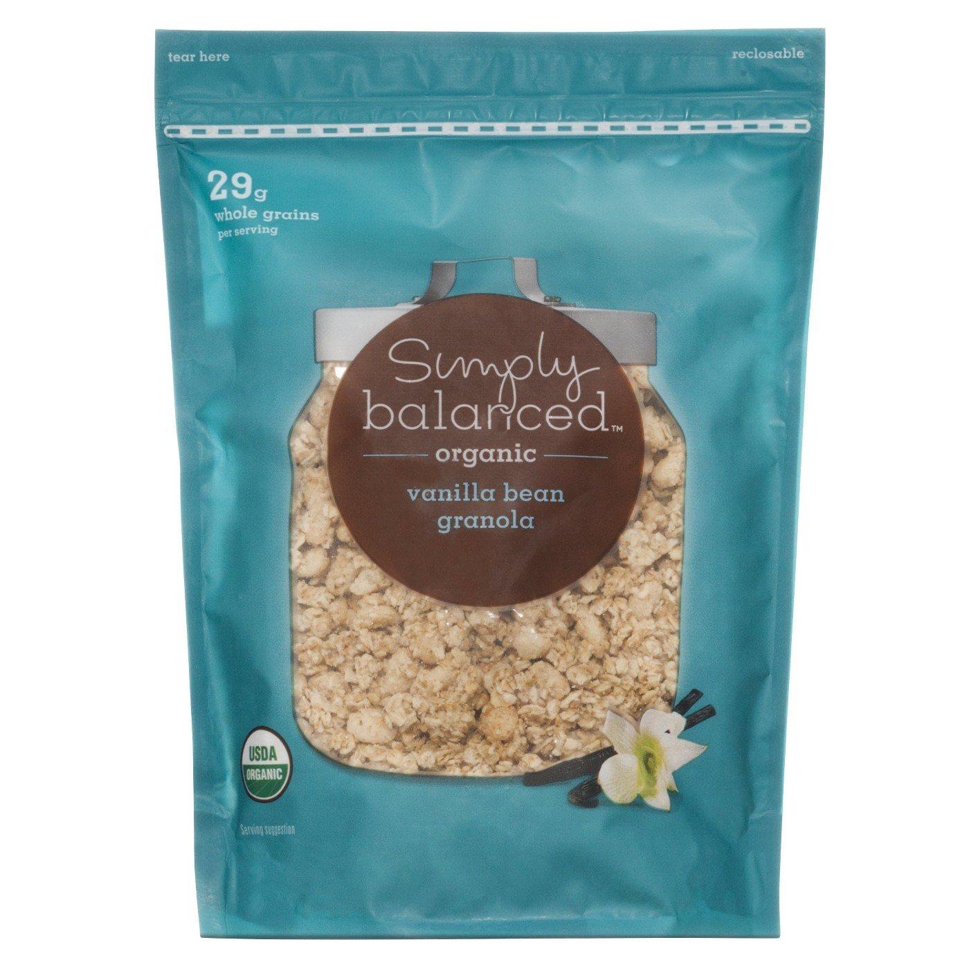 Simply Balanced Organic Vanilla Granola - 12oz
