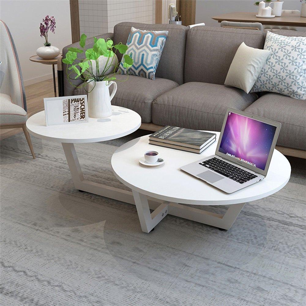 5 IN 1 TABLE XIAOYAN Beistelltisch Couchtisch Couchtisch Modern Minimalist Wohnzimmer Tisch-50 * 90 * 40 cm Mehrzweck (Farbe : Weiß)