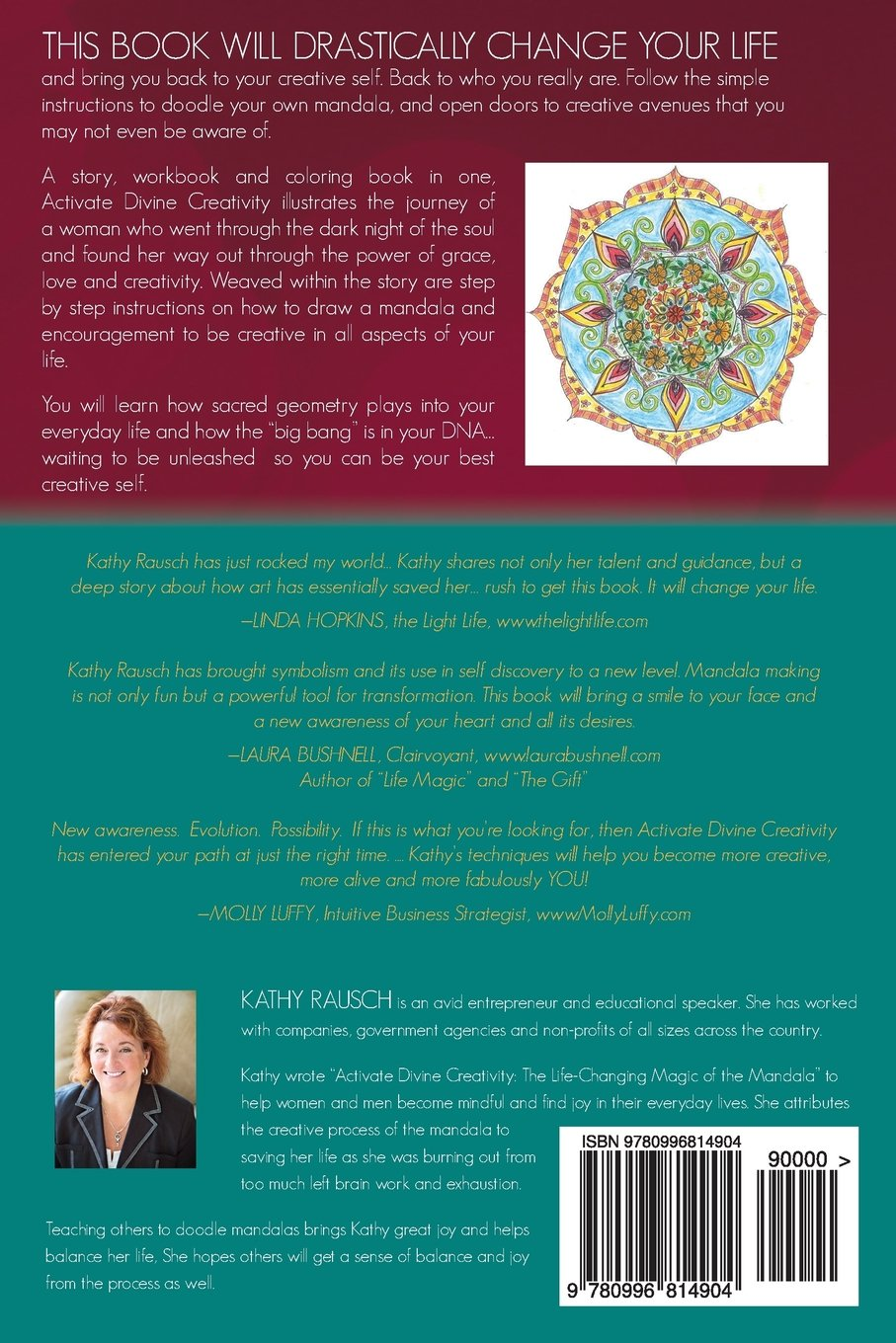 Activate Divine Creativity: The Life Changing Magic Of The Mandala: Kathy  Rausch: 9780996814904: Amazon: Books