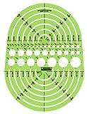 Amazon Price History for:Rapidesign Circle Radius Master Template, 1 Each (R142)