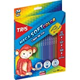 Lápis Cor, Tris, 7897476680224, Multicor, pacote de 24