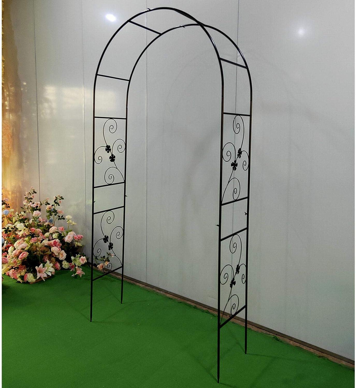 Kaibrite White Wedding Arch kit Decoration, Height 90.5