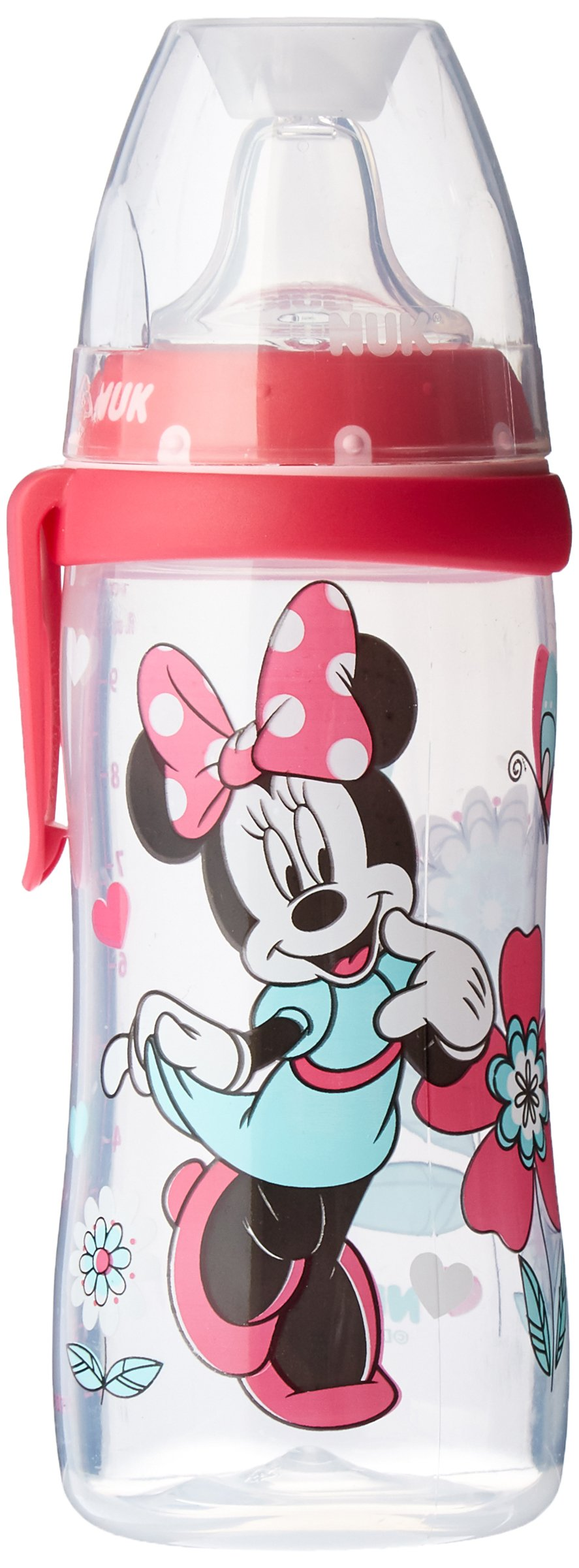 NUK Disney Active Cup, Minnie Mouse Design, 10 Ounce