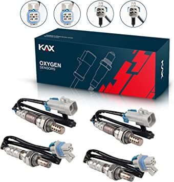 KAX 234-4668 213-4229 Oxygen Sensor Upstream Downstream 250-24470 250-24736 Heated O2 Sensor Air Fuel Ratio Sensor 1 Sensor 2 Rear Front Original Equipment Replacement set of 4