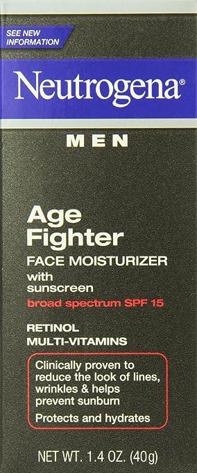 Amazon.com : Crema Hidratante Facial Para Hombres - Con Proteccion Solar - Antiedad Reduce Lineas Finas, Arrugas y Previene Quemadura Del Sol : Beauty