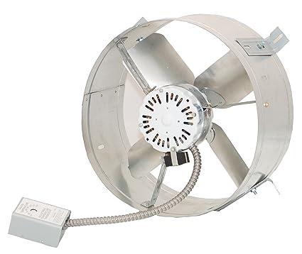 Ventamatic CX2500UPS Cool Attic Power Gable Mount Ventilator Fan Home Roof Vent Cooling Fan  sc 1 st  Amazon.com & Ventamatic CX2500UPS Cool Attic Power Gable Mount Ventilator Fan ...