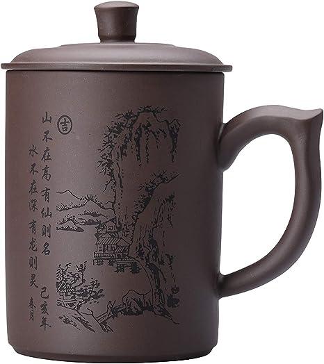 Handmade Chinese Yixing Zisha Purple Clay Teacup Gongfu Tea Cups