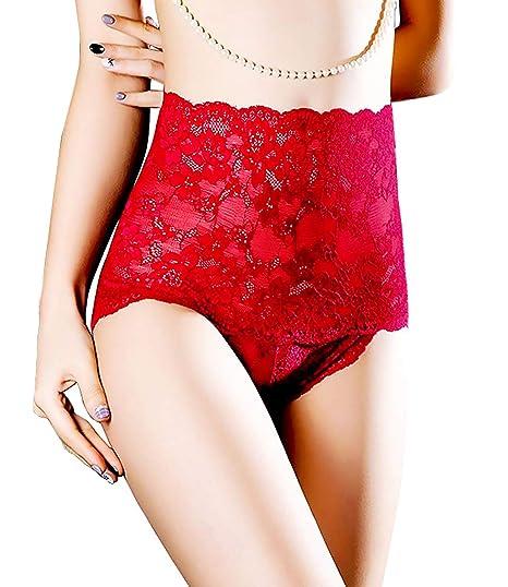 popiv Frauen Damen Spitze String Slips Valentinstag Höschen Tangas Dessous Unterwäsche Slips, MEHRWEG