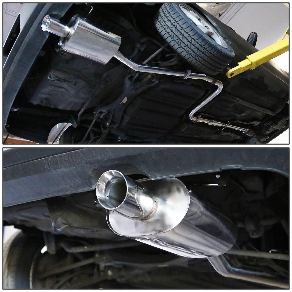 DNA Motoring J2 Engineering J2-CBE-OS-054 Catback Exhaust System
