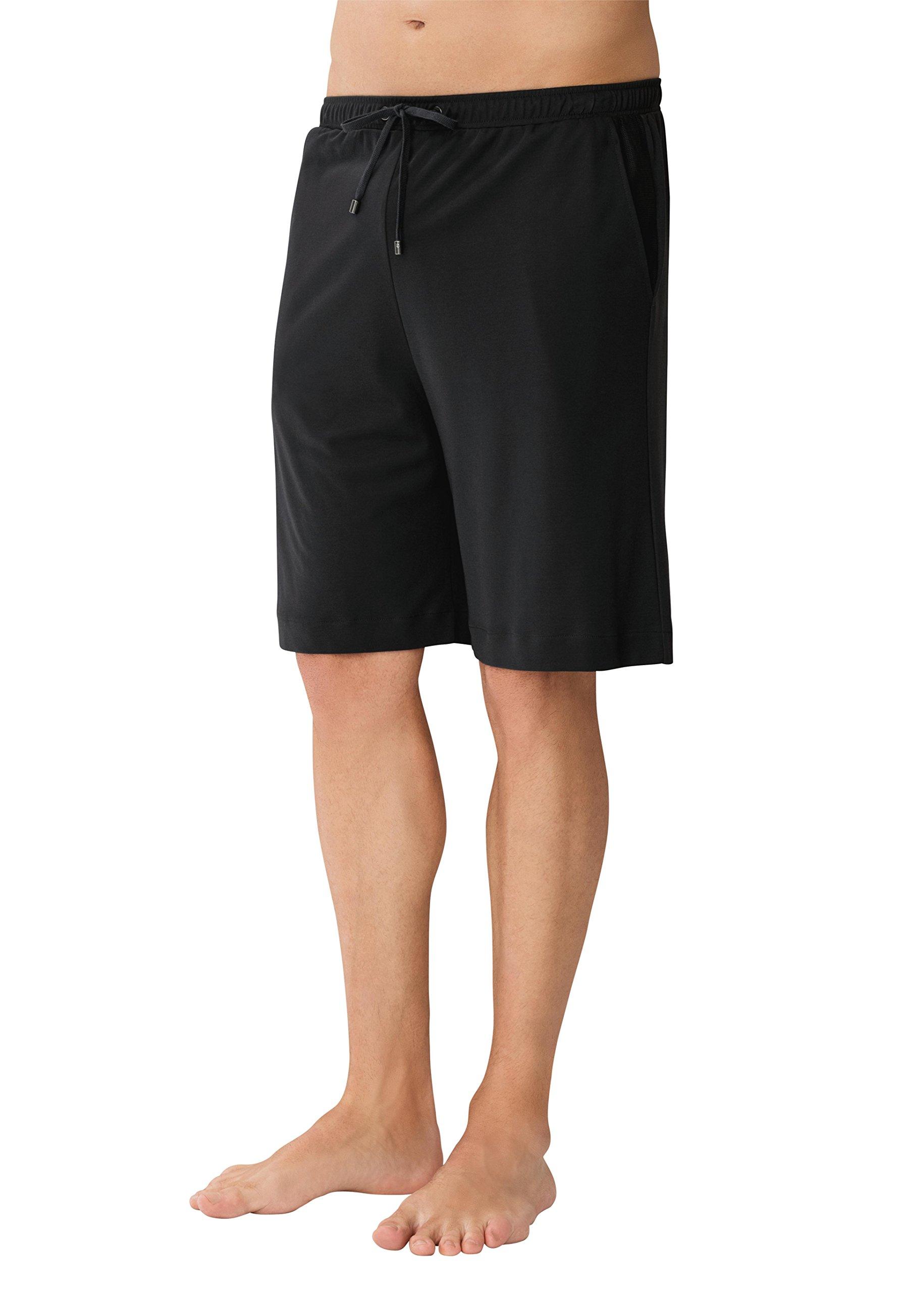 Zimmerli Mens New Jersey Loungewear Shorts L Dk Grey