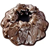 Nordic Ware Harvest Leaves Bundt Pan, Bronze