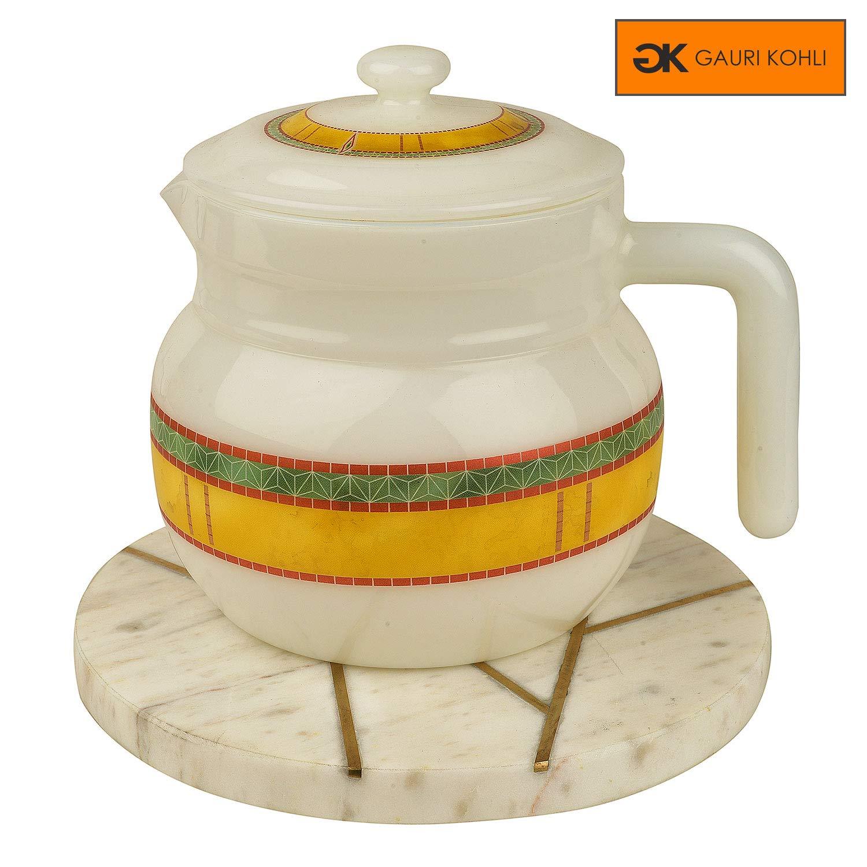 Set of 4 x 19cm Round Cork Kitchen Trivets Pot Kettle Hot Pan Stands