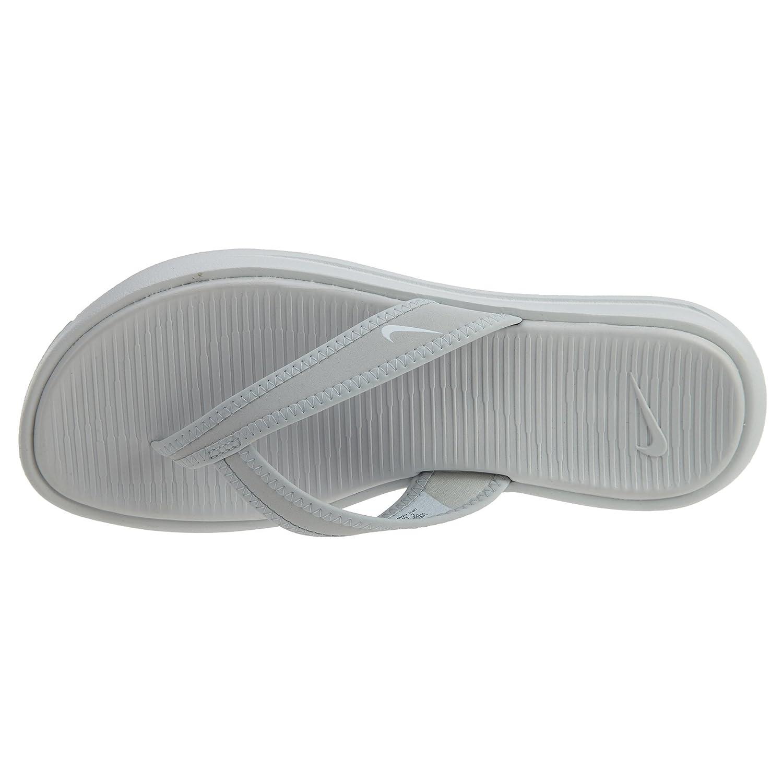Nike Damen Zehentrenner Wmns Celso Thong Plus Zehentrenner Damen Pure Platinum/Weiß 51a5c2