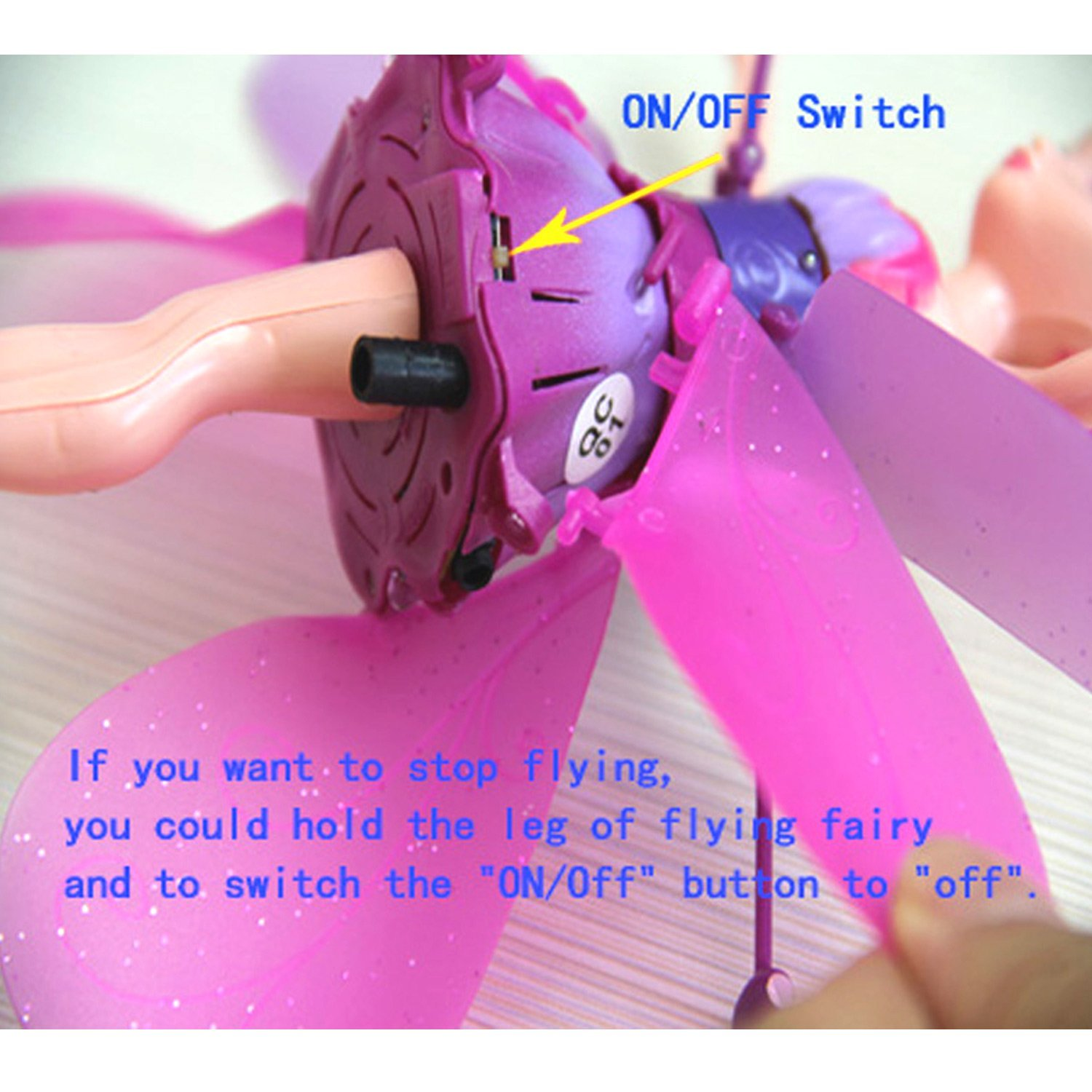 Buy Adraxx Fluttering Flying Fairy Doll Online At Low Prices In