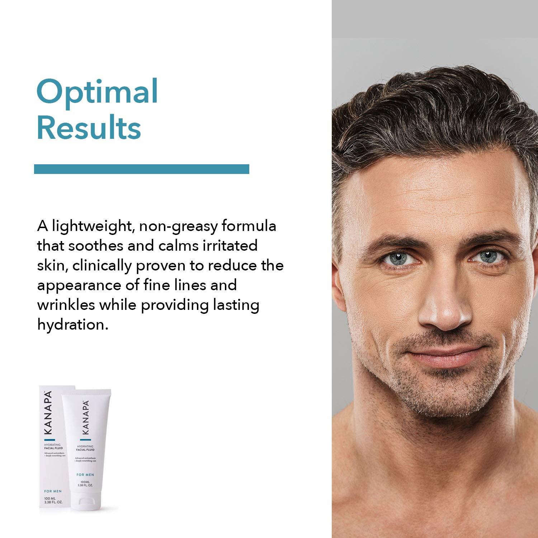 Amazon.com: Xtend-Life Kanapa Hydrating Facial Fluid for Men, Anti-Aging  Daily Facial Moisturizer, 3.38 oz (100 ml): Health & Personal Care