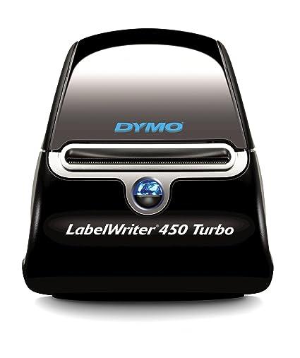 DYMO LabelWriter 450 Turbo - Impresora de etiquetas (600 x 300 DPI ...