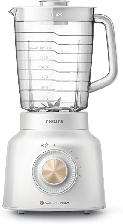 Philips Viva Collection HR2134/00 - Licuadora (2,4 L, Batidora de ...