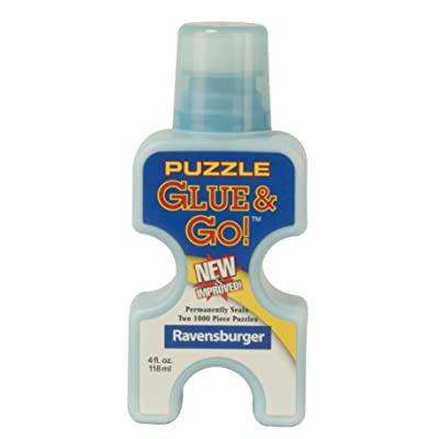 Ravensburger Puzzle Glue & Go! 4 oz: Toys & Games