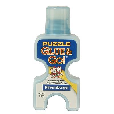 Ravensburger Puzzle Glue & Go! 4 oz: Toys & Games
