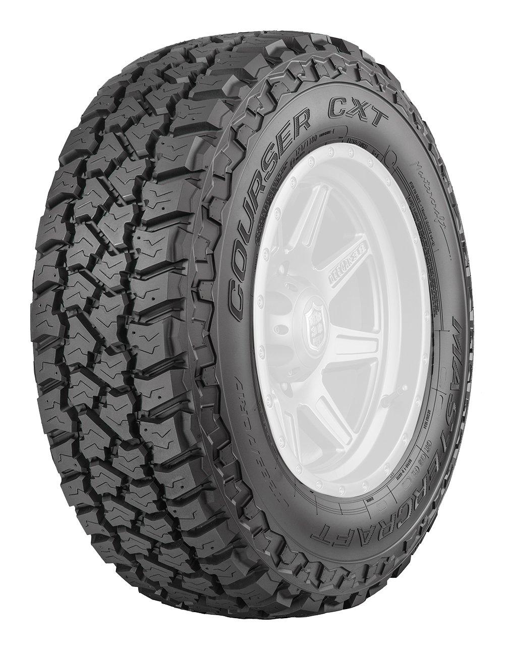 Mastercraft Courser CXT All-Terrain Radial Tire - 265/70R17 121Q