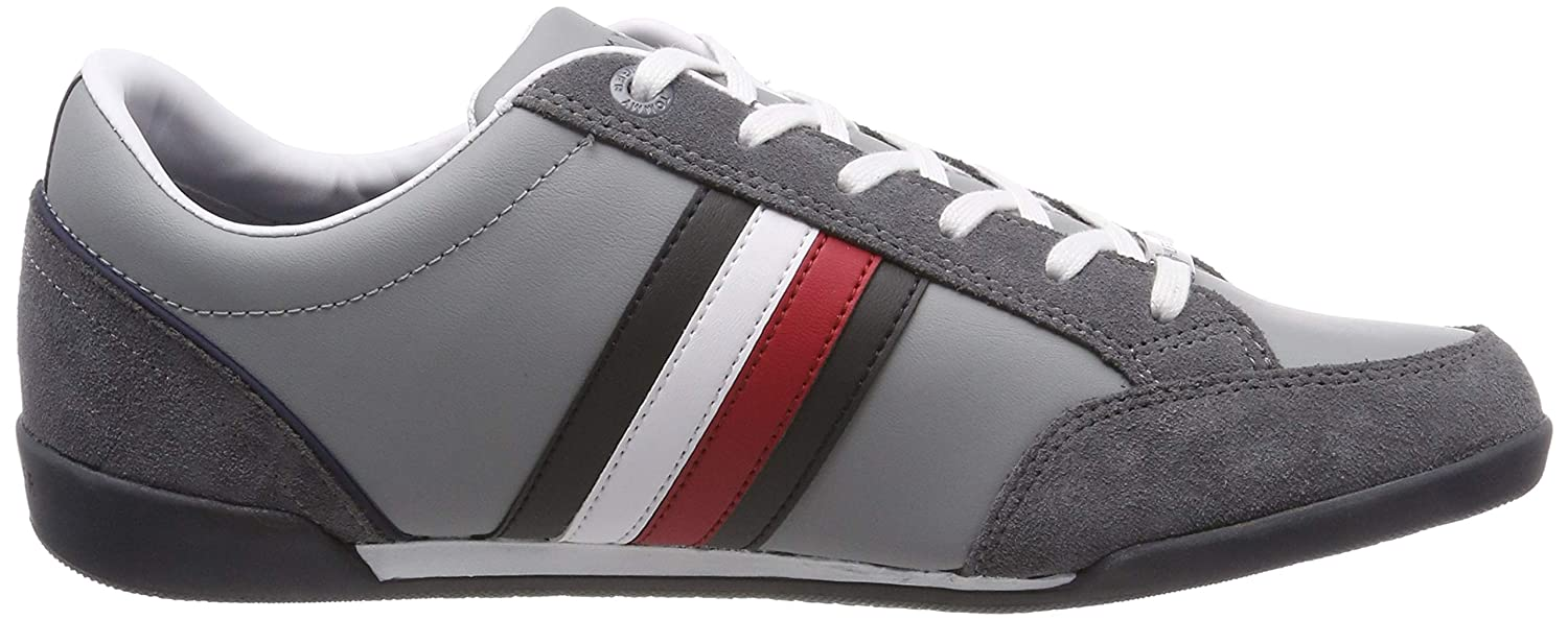 Tommy Tommy Tommy Hilfiger Herren Corporate Material Mix Cupsole Turnschuhe  f85b37