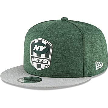 262273b2f54e7 New Era New York Jets On Field 18 Sideline Road Snapback Cap 9fifty 950 S M