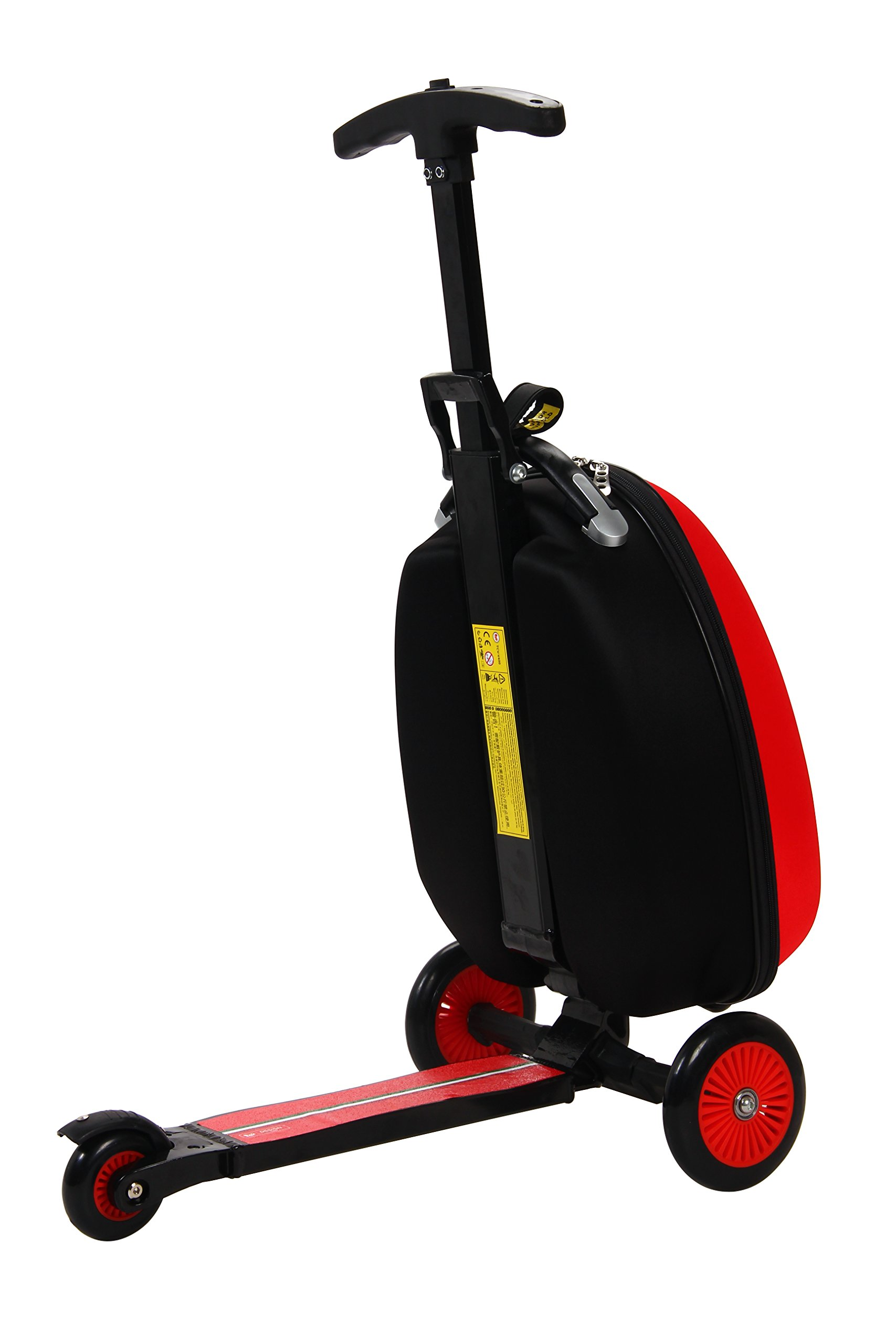 Ferrari Kids Scooter Luggage, Red by Ferrari (Image #3)