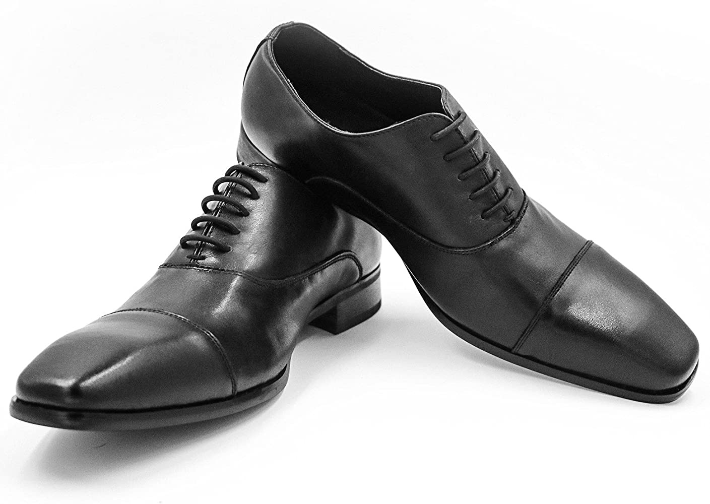 INMAKER No Tie Dress Shoe Laces for Men